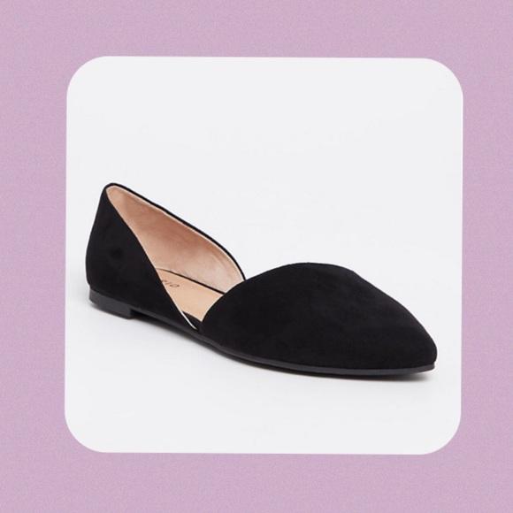 torrid Shoes | Sale Black Dorsay Flat